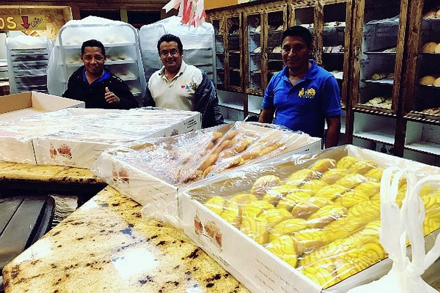 The staff of Mexican bakery El Bolillo in Houston, Texas, decided to bake bread for their community when they were trapped in the shop for two days because of Hurricane Harvey. By the time of their rescue, they had baked more than 5,000 bread items,