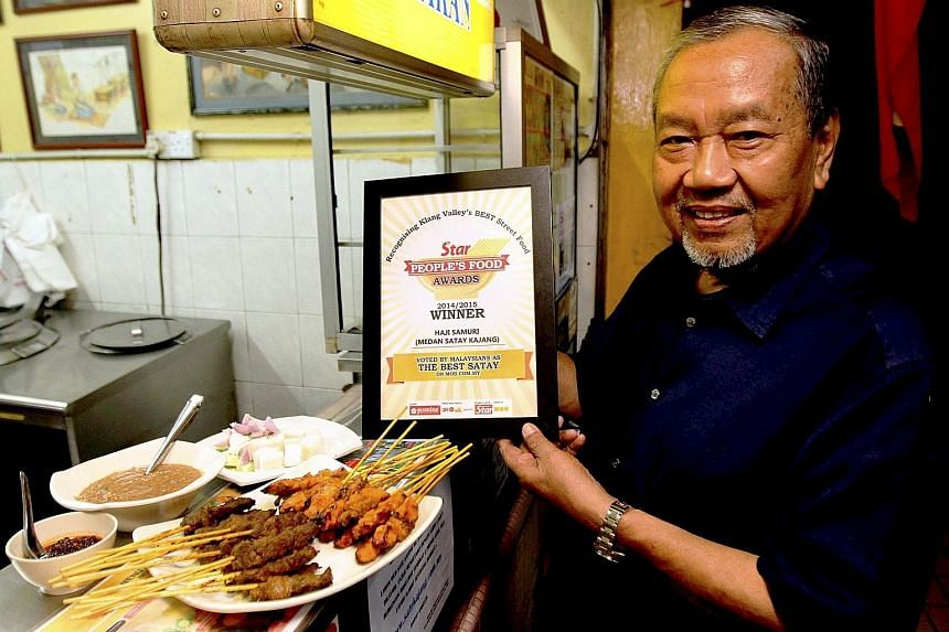 Mr Samuri Juraimi, who has died of liver cancer, made Kajang famous when he started his first stall in the then-small town 25 years ago.