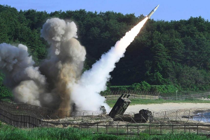 South Korea and the United States fired off missiles on July 5 simulating a precision strike against North Korea's leadership.