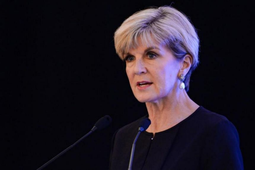 """Australian Foreign Minister Julie Bishop said the agreement was a """"landmark day"""" in the relationship between Timor Leste and Australia."""