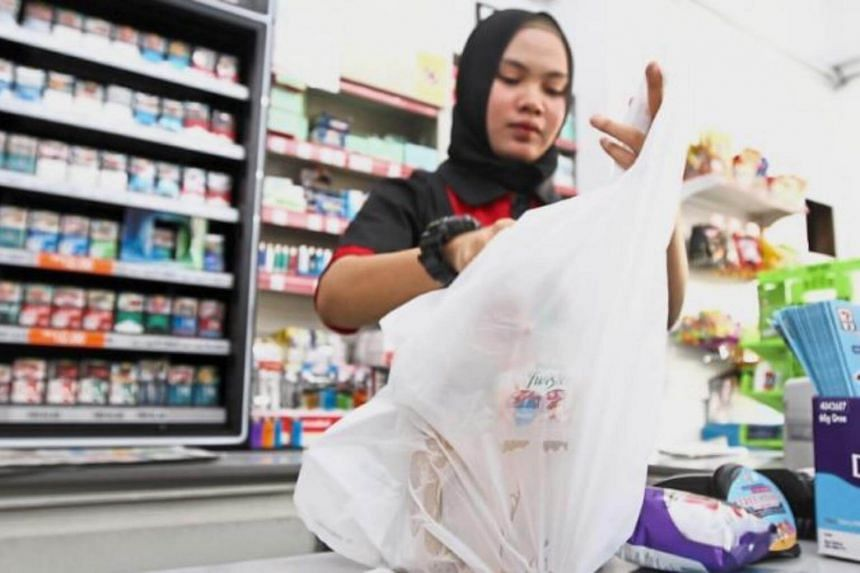 Malaysia's Federal Territories have banned the use of plastic shopping bags from Friday.