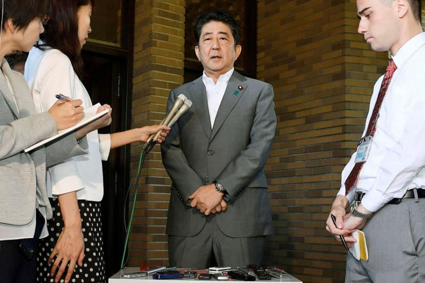 "Japanese Prime Minister Shinzo Abe said a sixth nuclear test by Pyongyang would be ""absolutely unacceptable""."
