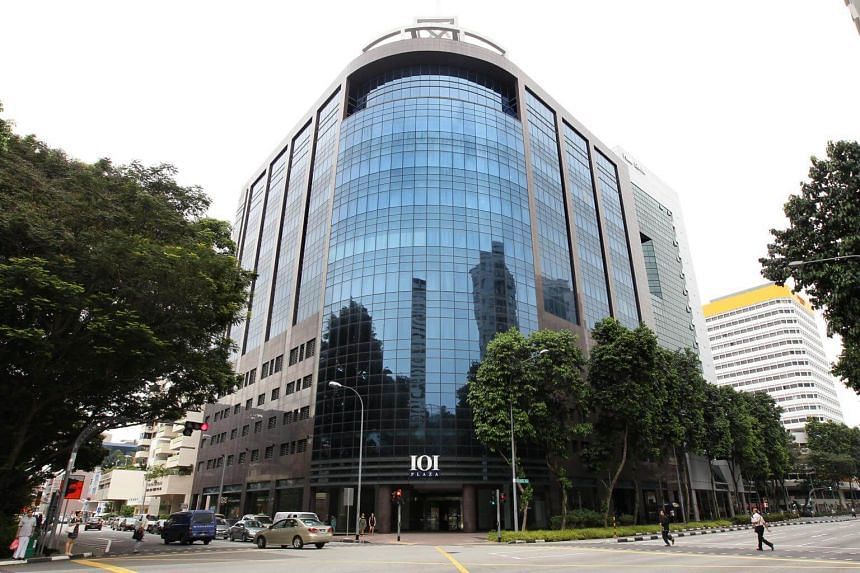 The Singapore Pools building in Middle Road (pictured) has been found to have cladding that does not adhere to fire-safety standards.
