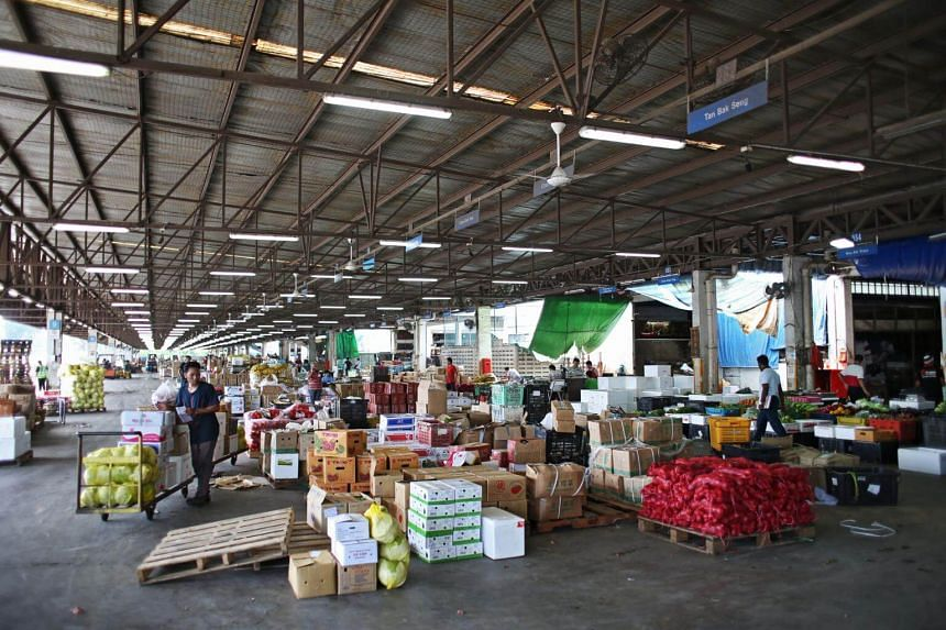 Wholesale and retail trade made up a 14.2 per cent share of Singapore's gross domestic product in 2016.