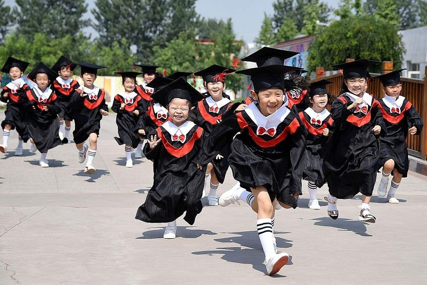 Children in rural areas, where around half of China's population lives, have far lower cognitive and social skills compared with their urban counterparts, setting them on a path of dropping out of school early.