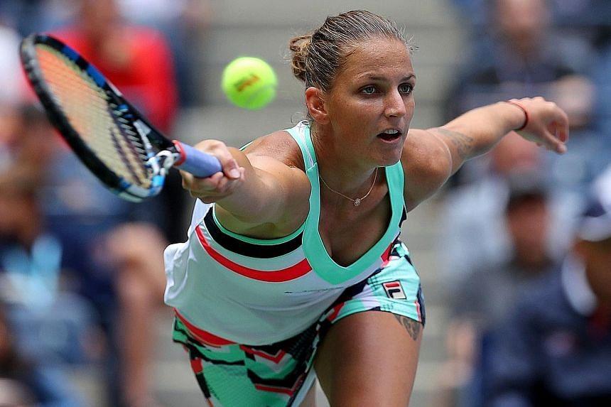 Karolina Pliskova, runner-up last year, narrowly averted the prospect of a crushing third-round defeat by Zhang Shuai, eventually winning 3-6, 7-5, 6-4 on Saturday.