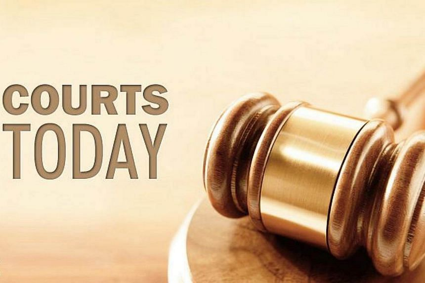 The man faces two charges of raping the girl at the family's flat in Punggol on Nov 19, 2014, and on Jan 9, 2015.