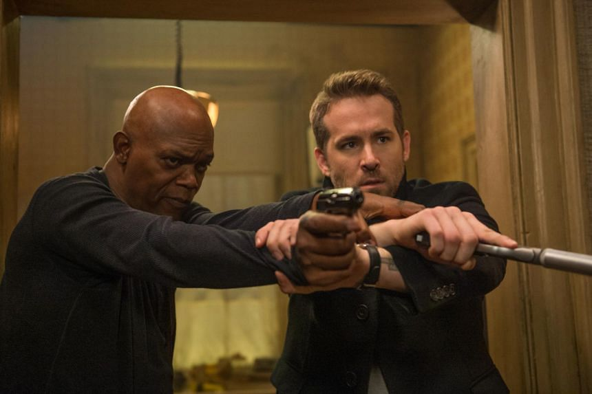 The Hitman's Bodyguard is the only movie this summer to cling to the top for three straight weeks.
