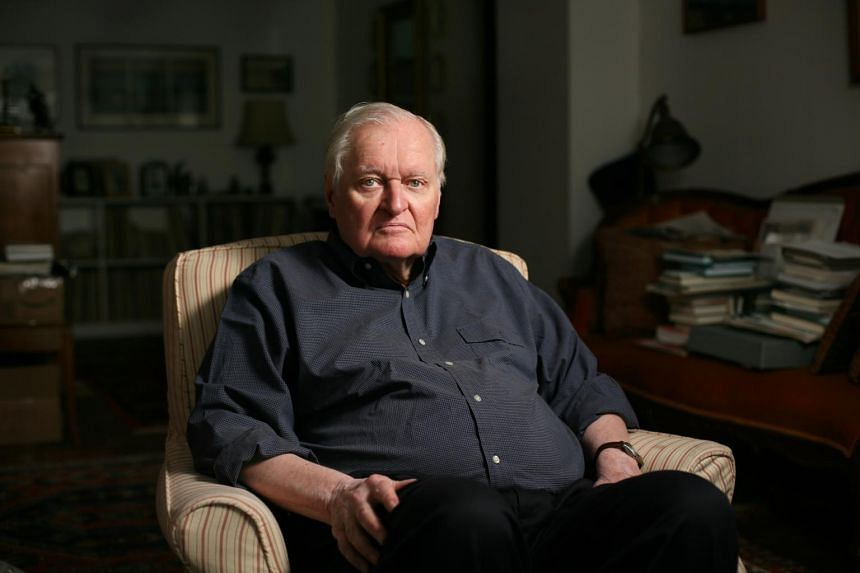 John Ashbery died on Sunday (Sept 3) at his home in Hudson, New York.