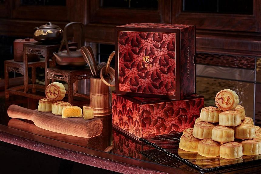Mooncakes by chef Yip Wing Wah of Hong Kong's famous Peninsula Hotel are among the most in demand.