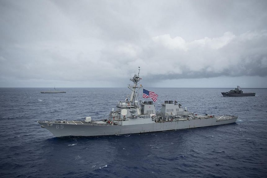 The USN sent littoral combat ship USS Coronado, Arleigh Burke-class destroyer USS Benfold, and underway replenishment oiler USNS Pecos for the exercise.