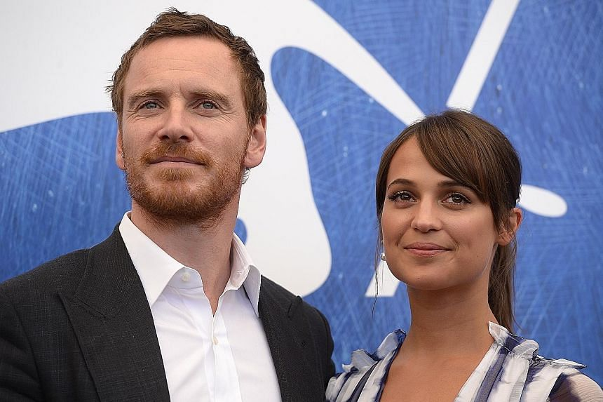 Michael Fassbender and Alicia Vikander fell in love while filming The Light Between Oceans in 2014.