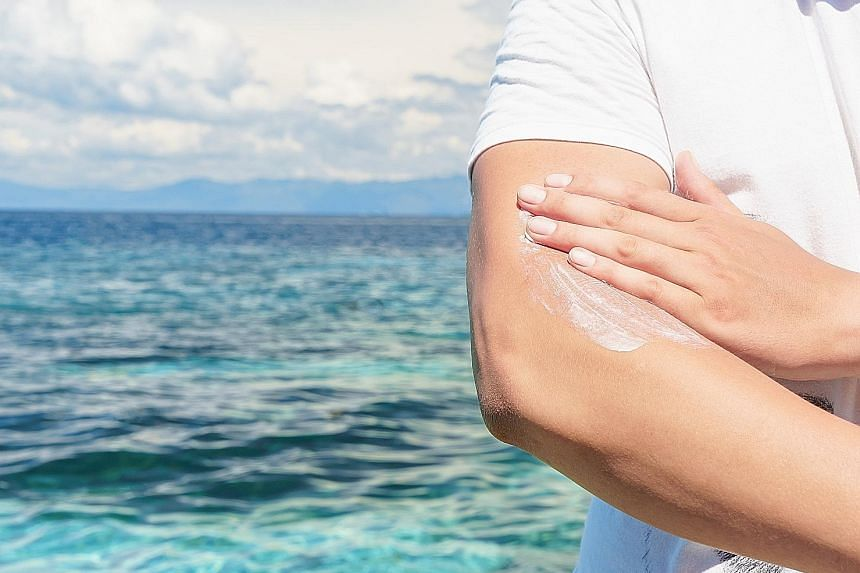 People who are allergic to the sun have to slather sunblock on exposed skin and reapply the lotion throughout the day.