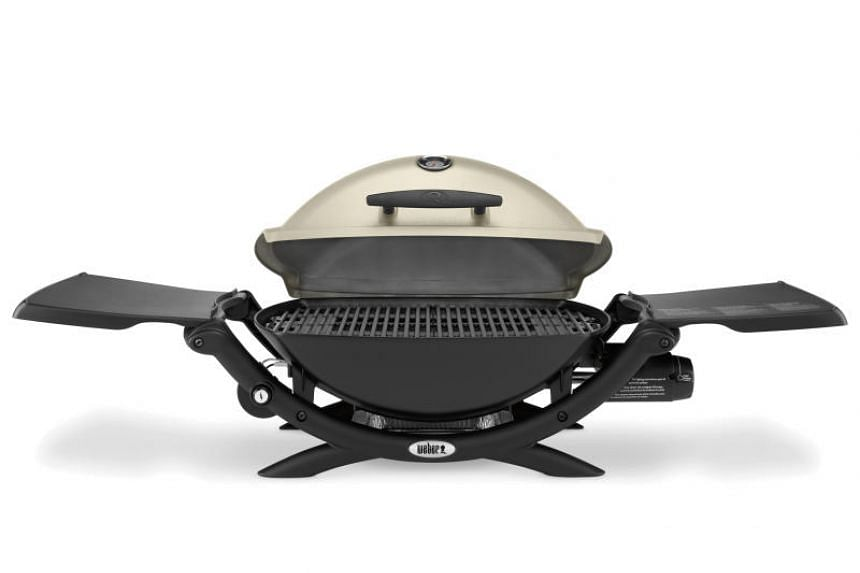 The Weber Q2200 Gas Grill.