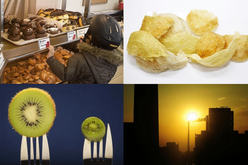 Some of the less common things people are allergic to: bread, bird's next, exposure to sunlight and kiwis.