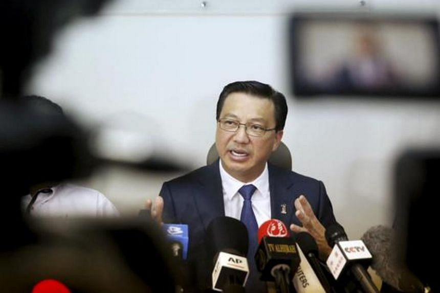 Malaysia's transport minister Liow Tiong Lai speaks at a news conference about debris found on a beach in Mozambique that may be from missing Malaysia Airlines flight MH370, in Kuala Lumpur, on March 3, 2016.