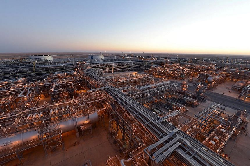 Saudi Aramco's khurais mega project seen in Saudi Arabia, on Feb 5, 2013.