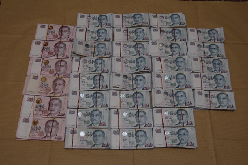 More than $730,000 was recovered from the pair.