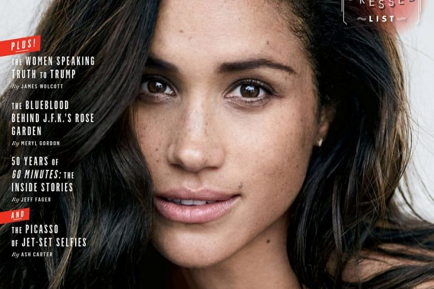 Meghan Markle on the cover of Vanity Fair.