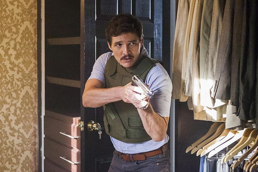 Pedro Pascal reprises his role as agent Javier Pena of the United States Drug Enforcement Administration in the third season of Narcos.