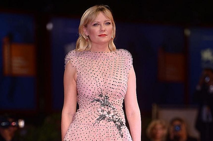 Actress Kirsten Dunst stars in Woodshock, in the festival's Cinema In The Garden section.