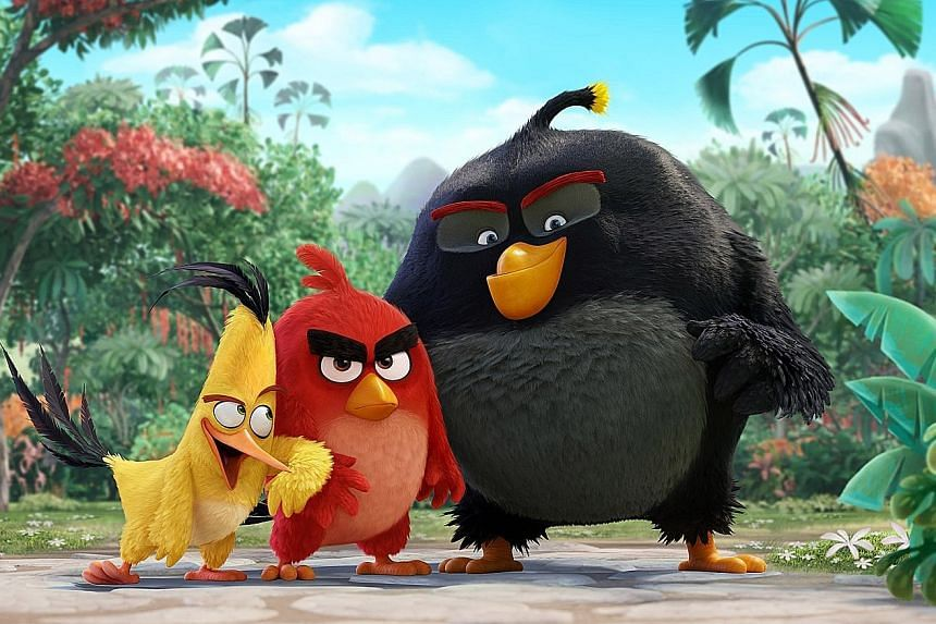 A cinema still of the Angry Birds movie which was released last year. The film revived the brand and gave a new boost to game sales. Rovio saw rapid growth after the 2009 launch of the original Angry Birds game, in which players use a slingshot to at