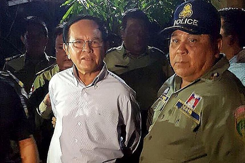 Kem Sokha's detention on Sunday raises the political temperature in Cambodia. His party had been widely tipped to perform strongly in next year's elections.