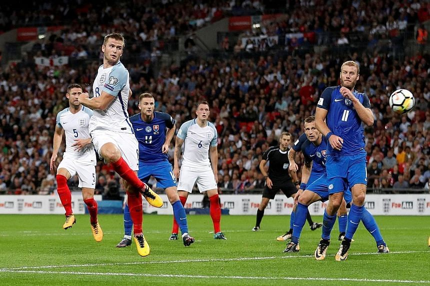 England midfielder Eric Dier netting their first goal in the 37th minute from forward Marcus Rashford's corner. The Three Lions just need three more points from their two remaining Group F qualifiers to book their berth at the World Cup Finals in Rus