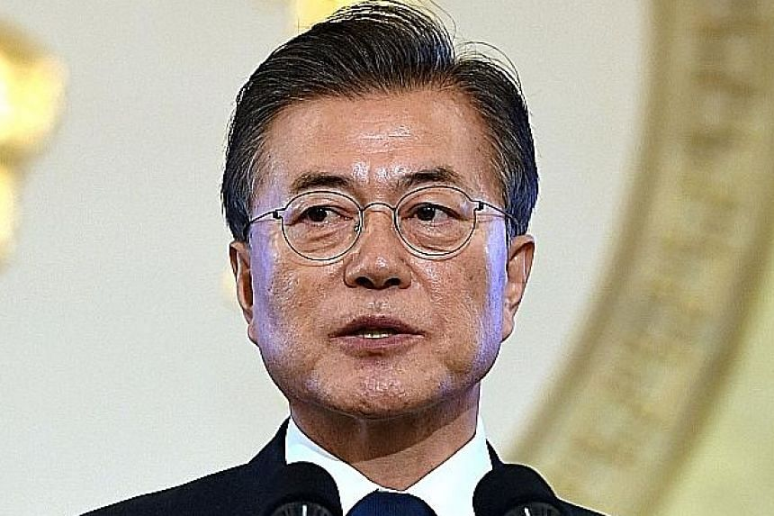South Korean President Moon Jae In is due to arrive in Russia for a visit today.