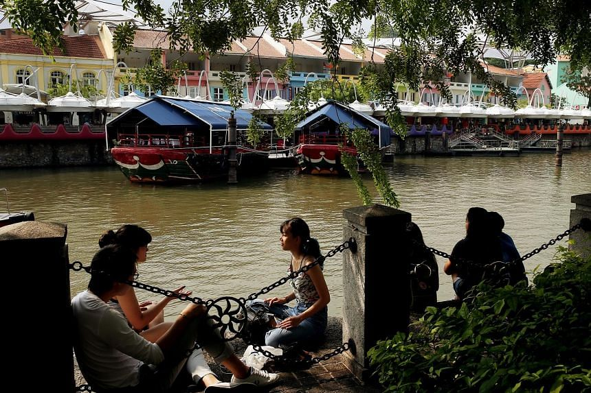 The Singapore River area, which encompasses Boat Quay, Clarke Quay and Robertson Quay, is Singapore's first Business Improvement District. Marketing efforts in the area include possible plans to permanently pedestrianise Circular Road.