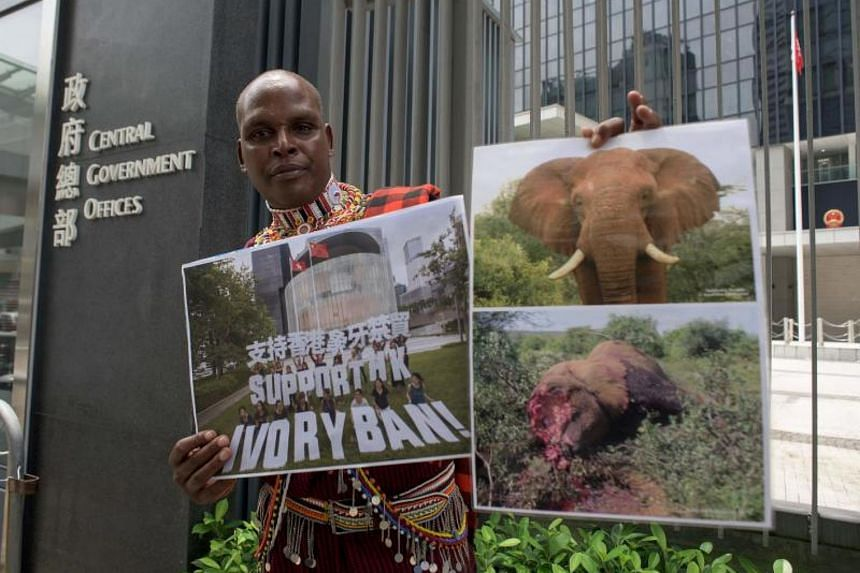 Park ranger Chris Leadismo said he and his  colleagues put their lives on the line to protect elephants.