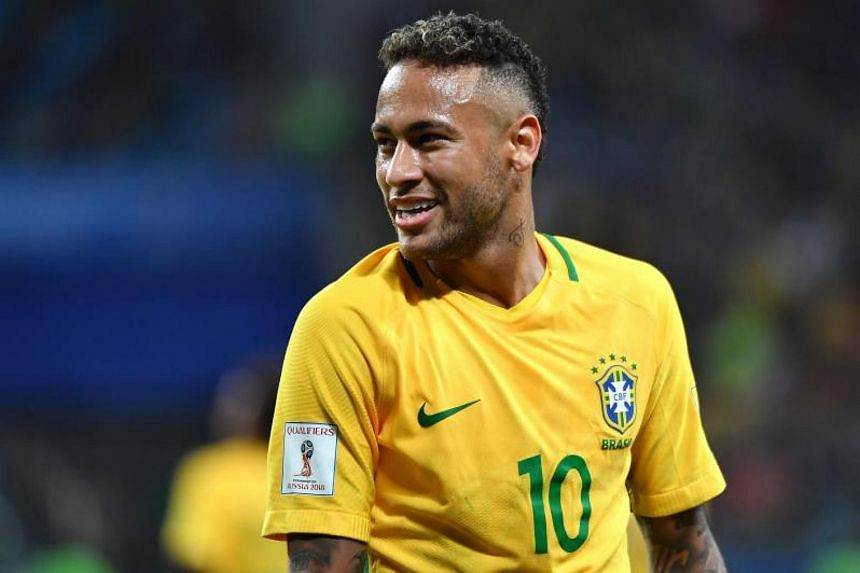 Neymar moved to Paris Saint-Germain for a record  €222 million (S$358.22 million) fee.