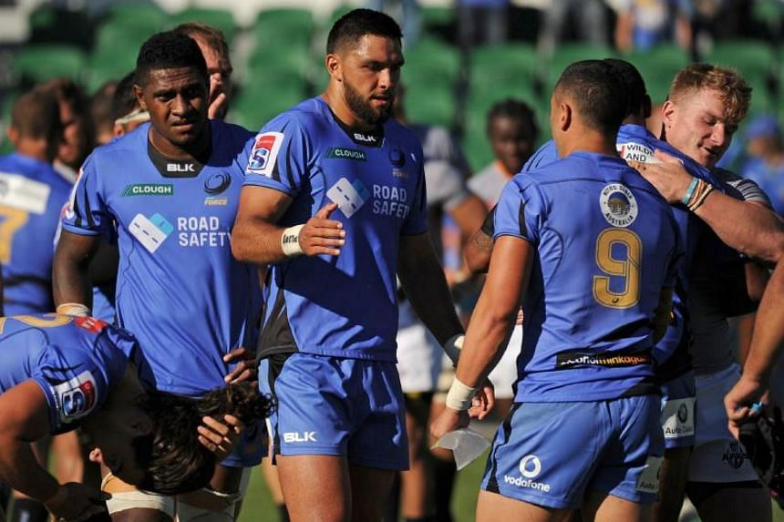 Western Force players were informed they were being culled from Super Rugby last month.