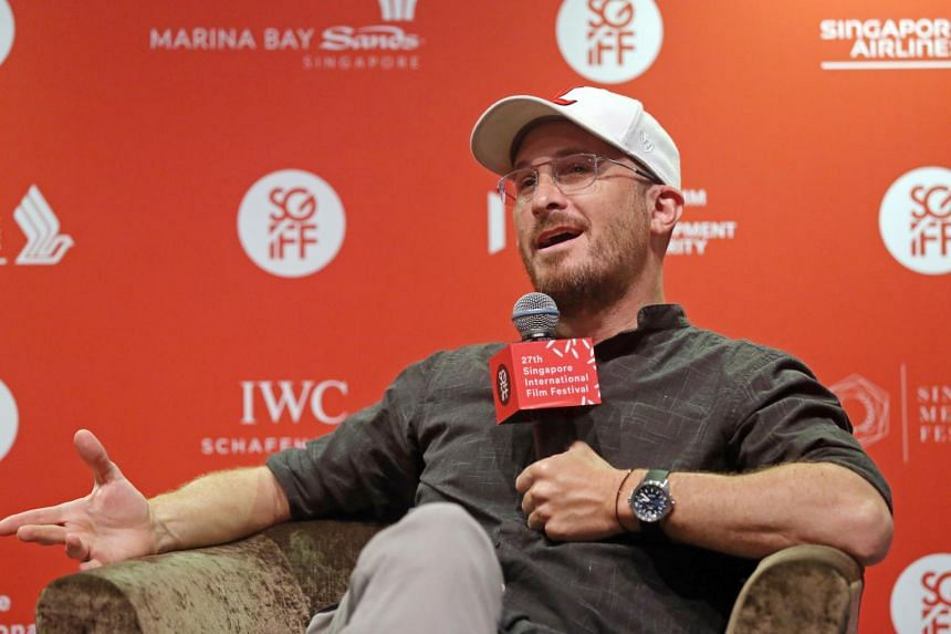 Director Darren Aronofsky at the 27th Singapore International Film Festival Materclass, at Art Science Museum on Nov 25, 2016.