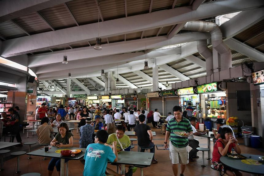 The Tampines Round Market & Food Centre.