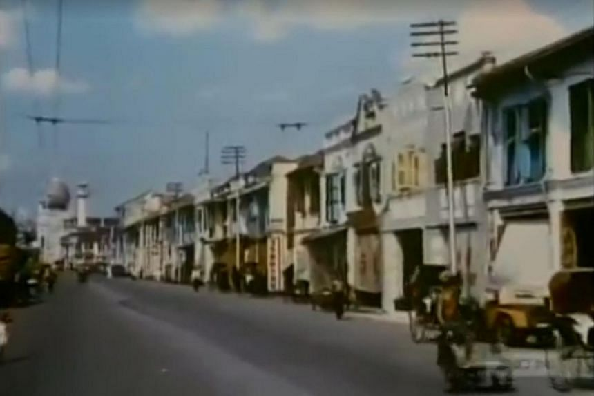 A screengrab from the eight-minute clip showcasing Johor's rich history.