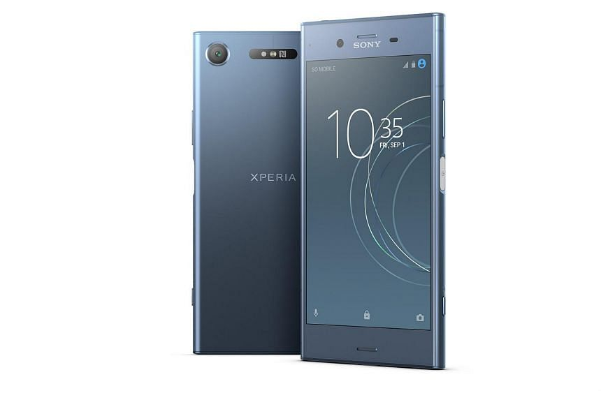 Sony Xperia XZ1 and XZ1 Compact.