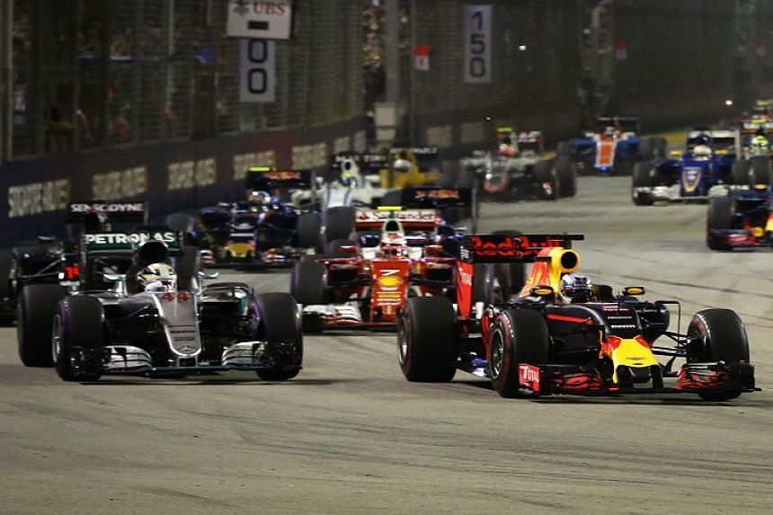 The F1 Singapore race attracts more than 80 million television viewers on average.