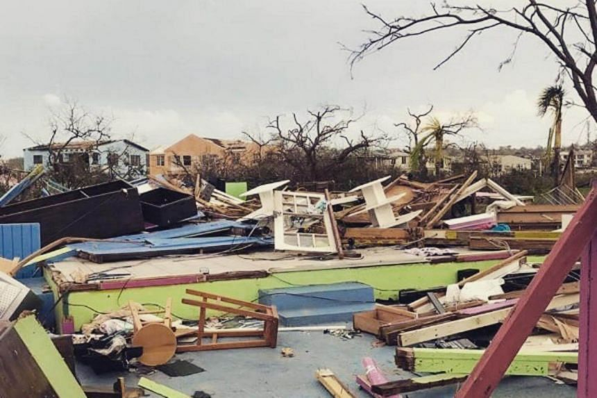 Mr Branson's son, Sam, posted pictures of the storm's aftermath on his Instagram account and said that many buildings on the island were destroyed.