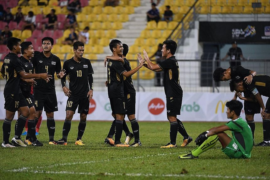 The Thailand versus Cambodia match was among three SEA Games football matches where suspicious betting behaviour was observed, said analysts.