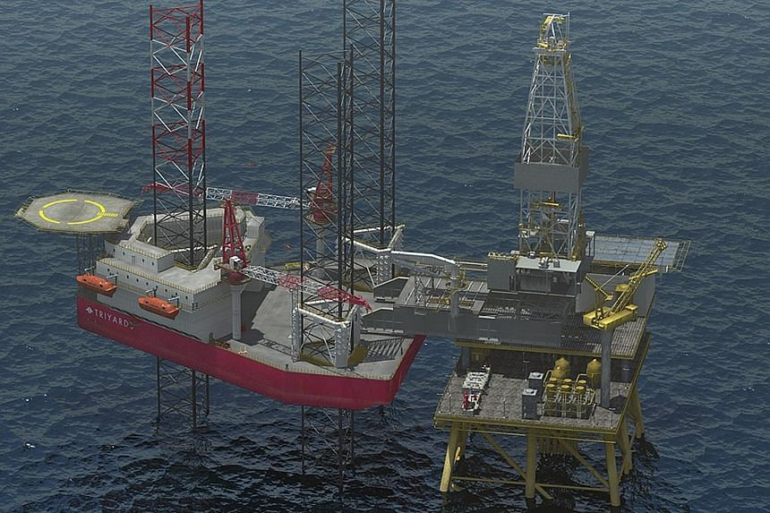 Triyards Holdings said payment delays from its clients for certain completed projects, owing to the severe oil industry downturn, had strained its resources.