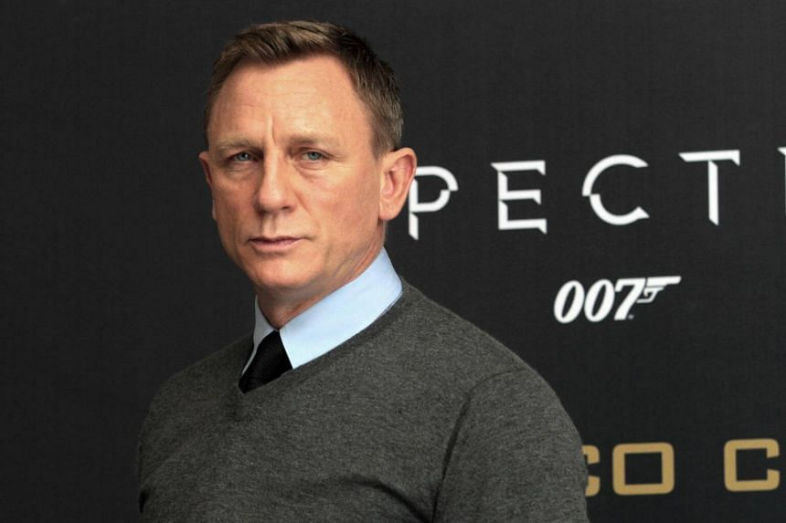 James Bond actor Daniel Craig at the presentation of Spectre in Mexico City on Nov 1, 2015.