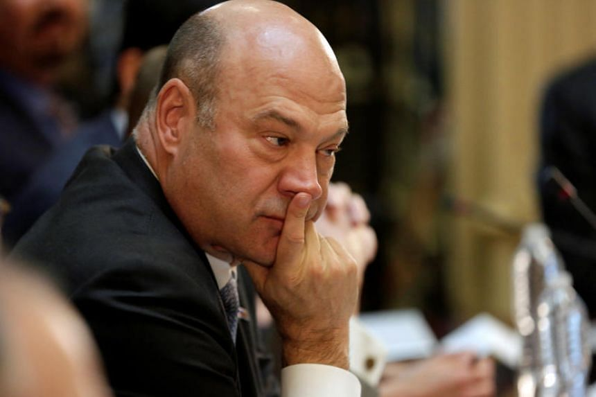 Former Goldman Sachs president Gary Cohn as director of the National Economic Council is Trump's top economic adviser.