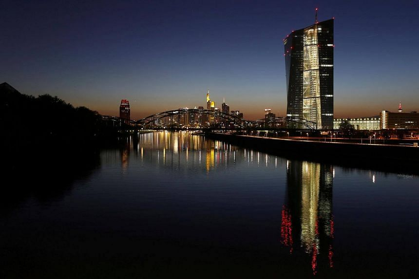 The European Central Bank opted to keep its stimulus settings unchanged for now as officials started cautiously sketching out the future of their quantitative-easing program.