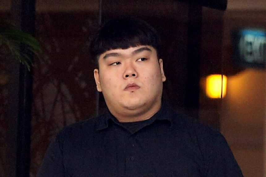 Jeremy Chang Wei Yong, 24, was drunk when he caused hurt to Mr Teo Wei Leong, 28, at Club Paragon at Concorde Hotel in Orchard Road.