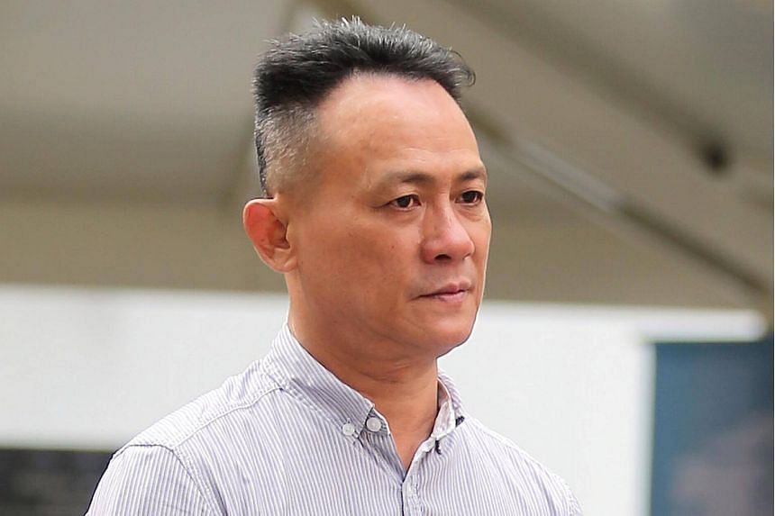 Ang Puan Heng, 52, was jailed for five weeks on Thursday (Sept 7) for causing hurt to Mr Go Kian Tew.