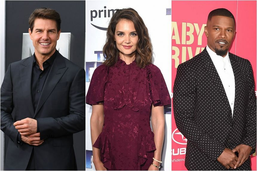 Actress Katie Holmes has gone public with her stealthy romance with Oscar winner Jamie Foxx, five years after her divorce from Hollywood superstar Tom Cruise.