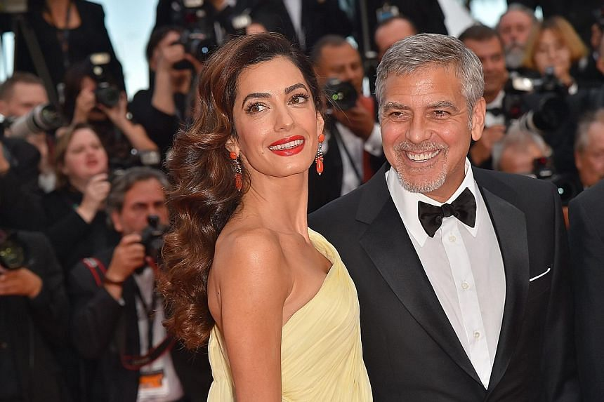 George Clooney's wife, Amal, gave birth to twins in June.
