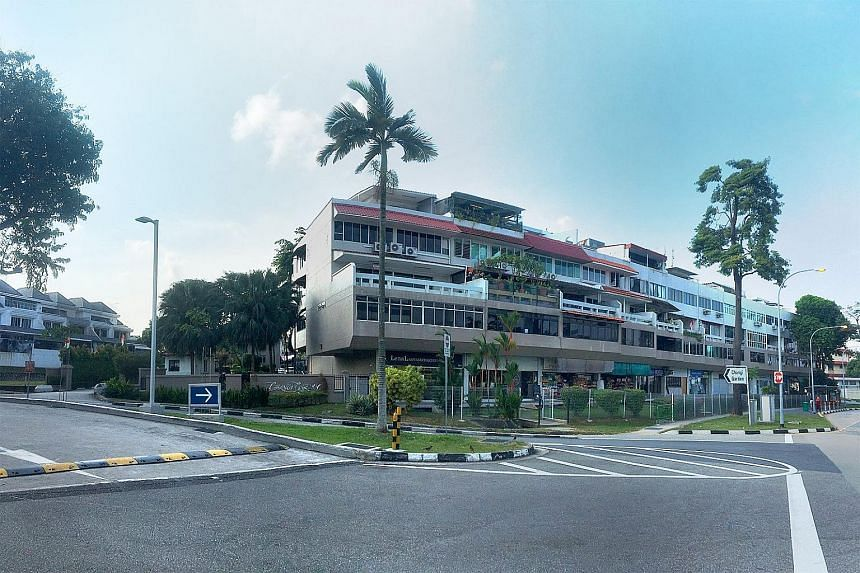Changi Garden is at the junction of Upper Changi Road North and Jalan Mariam, and sits on about 200,093 sq ft of elevated grounds. The owners of the development - with 60 apartments, 12 penthouses and 12 shops - are asking for $196 million, or $700 p