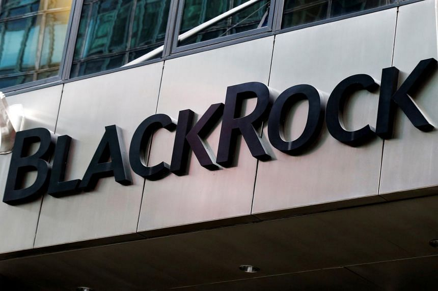 The BlackRock logo outside its offices in New York City, US on Oct 17, 2016.